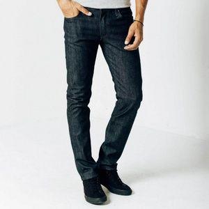 DSTLD Dark Indigo Wash Cigarette Skinny Jeans